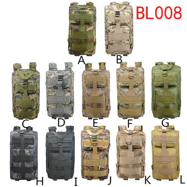 Cool CS Military Backpack Camouflage Bags Climbing Mountain Adult Outdoors Backpacks Waterproof Oxford Cloth Fast Shipping