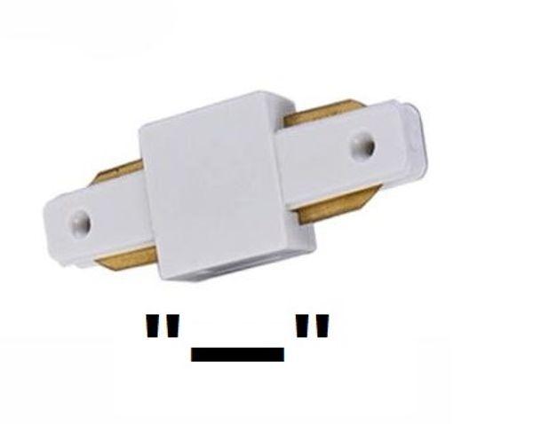 Connettore dritto (guscio bianco / nero)