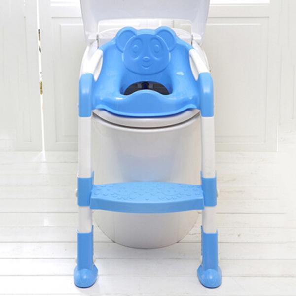 2019 Baby Foldable Potty Kids Training Toilet Seat Anti Skid Toilet Seat Portable