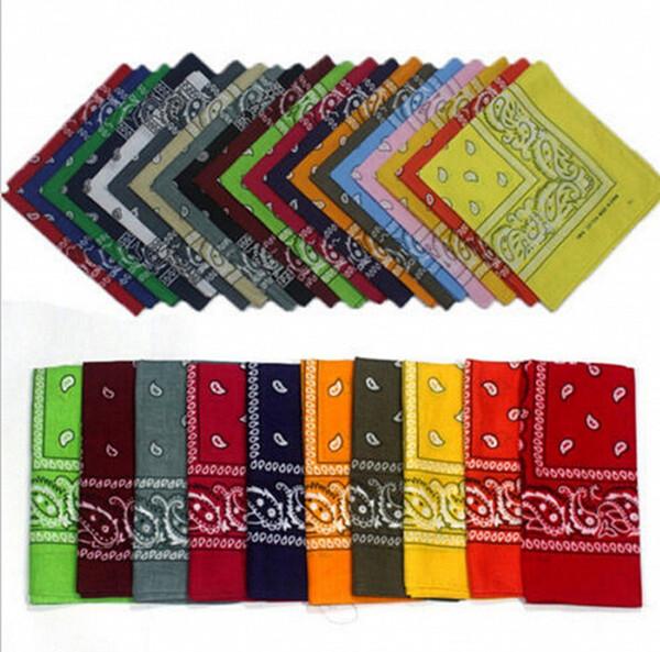 20000 pcs Paisley conception élégant tour magique magie anti-UV bandana bandeau écharpe hip-hop multifonctionnel bandana foulard en plein air gratuit DHL