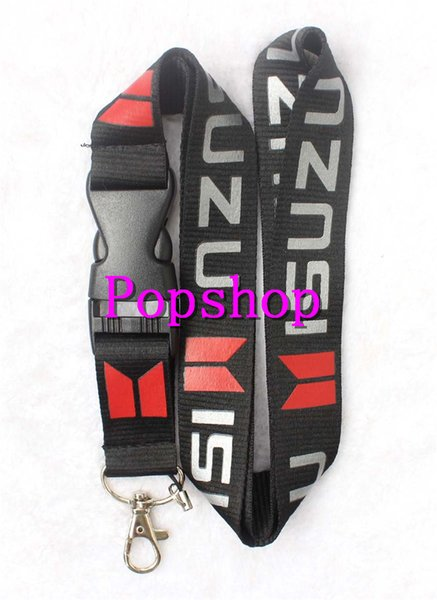 New 60Pcs Popular Auto Logo Style mobile Phone lanyard with Lobster Clasp fit Key ID Mobile Cell Phone straps Keychain