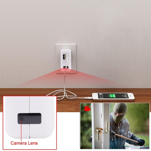 2019 1080p Hd Power Us Ue Au Adapter Camera Plug Socket Camera Covert Surveillance Cams Without