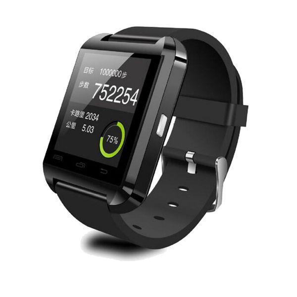 Smartwatch U8 Fashion Bluetooth Wrist Watch Bluetooth Smart Sport Watch Smart Watch for Samsung Note HTC Android Phone Smartphones