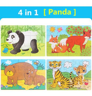 Color:4 in 1 Panda
