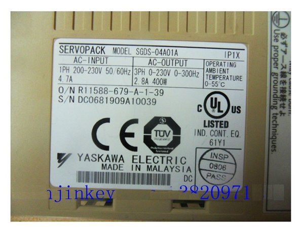 SGDS-04A01A SERVO PACK