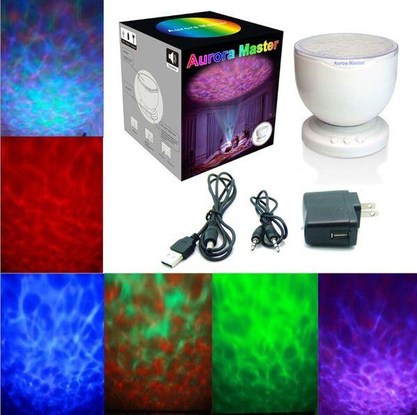 Rainbow Wave Projector Lamp U0026 Speakers Daren Waves LED Nightlight Mini Wave  Aurora Master Night