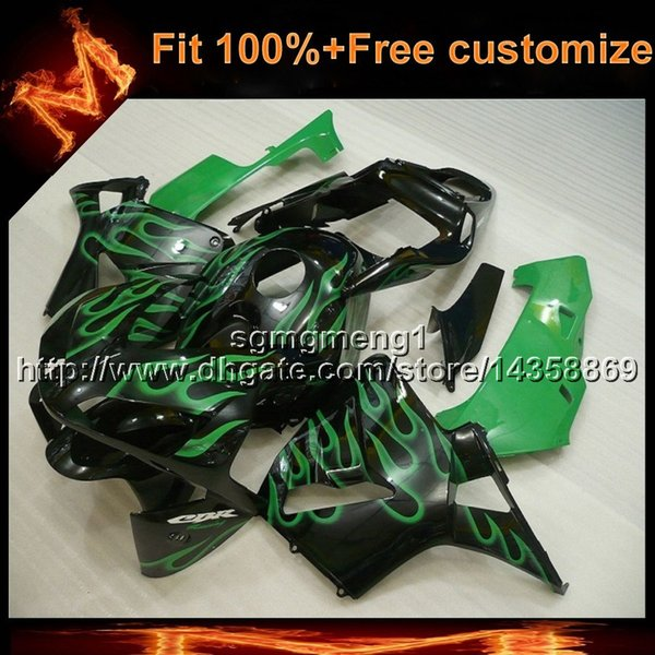 23colors+8Gifts Injection mold green motorcycle cover for HONDA CBR600RR 2003-2004 CBR600RR 03 04 ABS Plastic Fairing