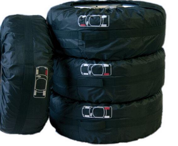 HAUTE QUALITÉ Housse de pneu de secours pour Summer Winer Polyester Housse de protection pour pneu noire Accessoires de roue pour housses de voiture Sedan (1PCS)