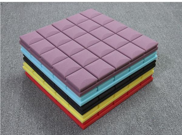 best selling Big size 50x50cm Thickness 5cm Acoustic Panels Soundproofing Studio Foam Treatment Sound Proofing Excellent Sound insulation Decoration