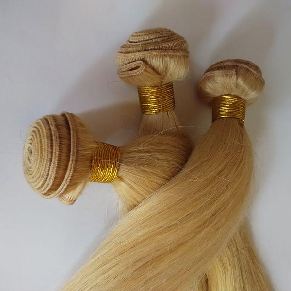 Malaysian Brazilian Vrigin Hair Extensions 24 Blonde France Popular