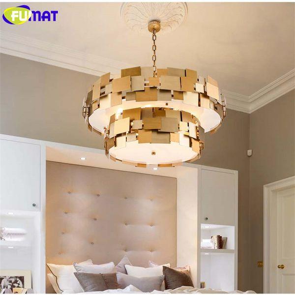 Großhandel FUMAT Double Layer Block Pendelleuchten Edelstahl Leuchten Art  Deco Lampe Moderne Mode Esszimmer Pendelleuchten Von Goods520, $1068.35 Auf  ...