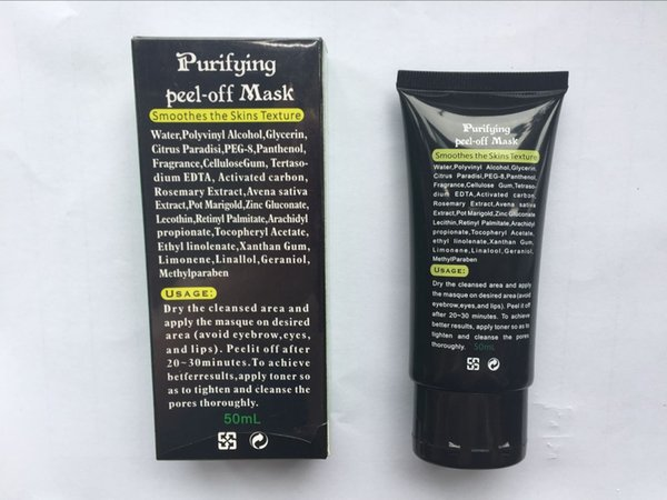 best selling New Version SHILLS Deep Cleansing Black MASK 50ML Shills Blackhead Facial Mask peel off blackhead Face Care hot sale DHL