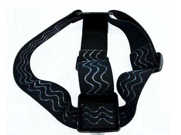 Wholesale new arrive Elastic Head Strap Adjustable Headstrap Go pro Mount Belt for Gopro Camera Hero 3 2 HD Accessories Black