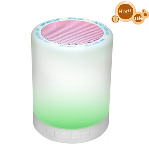 Bluetooth Speaker with Pink Top case