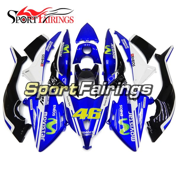 Injection Fairings For Yamaha XP 530 TMAX T-Max 2012 2013 2014 ABS Plastic Motorcycle Fairing Kit Blue 46 Cowlings Motorbike Covers Body Kit
