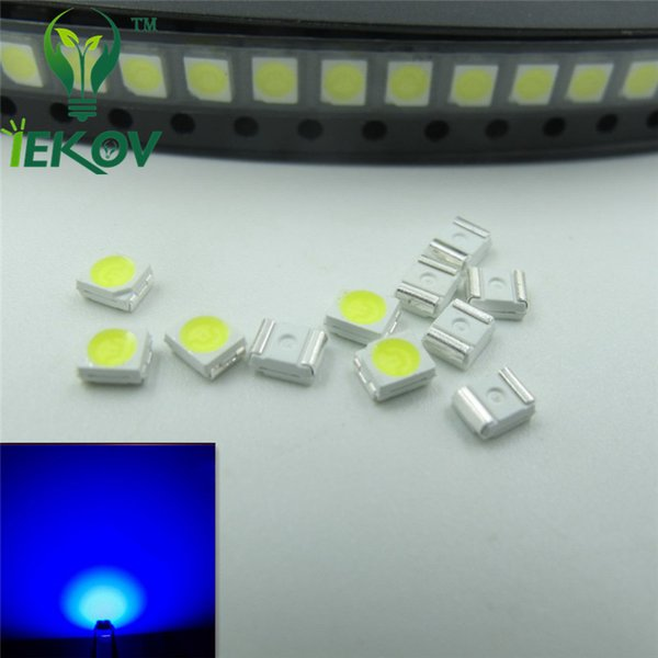 1000pcs 1210 3528 PLCC-2 Blue LED 3.0-3.2V SMD highlight light-emitting diodes High quality 465-475nm SMD/SMT Chip lamp beads