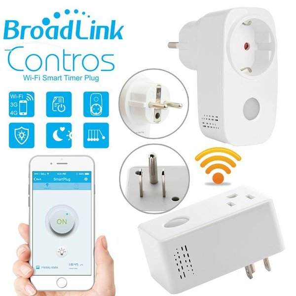 Broadlink Sp3 SP CC 16A+Timer EU US mini wifi socket plug outlet Smart remote wireless Controls for iphone ipad Android