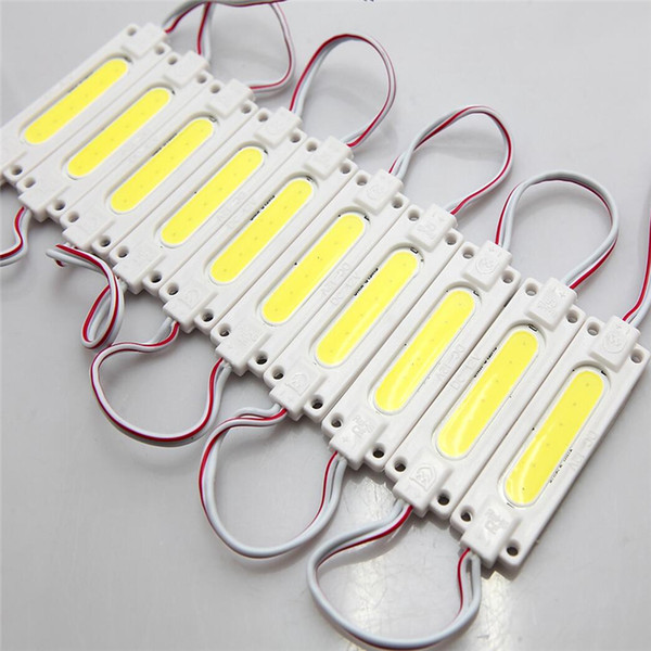 New Arrival Injection ABS Plastic COB Led Modules 1W/2W High Lumen Led Backlights String Cool White/Warm White Waterproof IP65