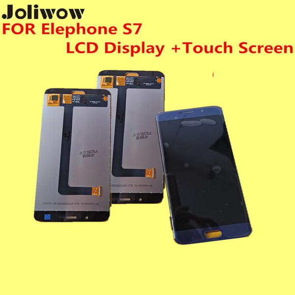 Al por mayor-Original PARA Elephone S7 LCD Display + Touch Screen + Frame Digitizer Assembly Replacement Accessories para el teléfono 5.5