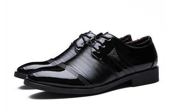 Hot Sale Fashion Leather Casual Brand Men Business Genuine Leather Men Shoes, For Men size: EU38-44