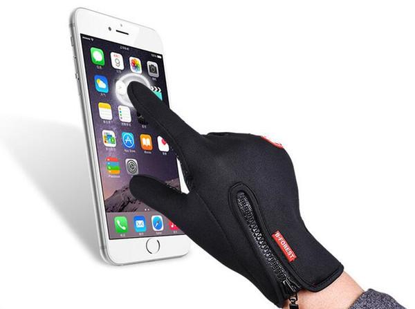 Guanti da sci antivento per lo sport all'aperto touch screen guanti da ciclismo per bicicletta alpinismo militare guanti da moto da corsa SC068