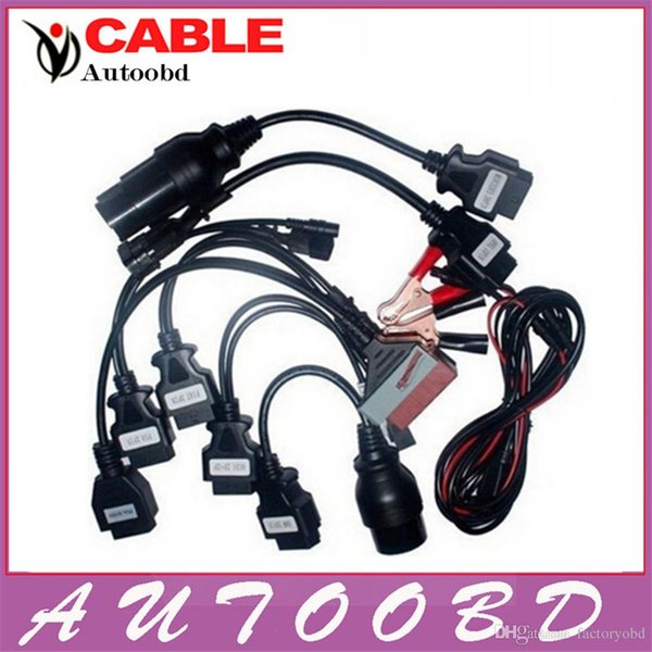 Best selling 2016 ! CDP Parts Cars Cables set for tcs CDP pro plus Cars 8 Cables for multi-band auto car obd2 diagnostic tools