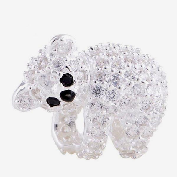 2016 Adorável Animal Koala 100% 925 Sterling Silver Bead Fit Pandora Moda Jóias DIY Charme Marca