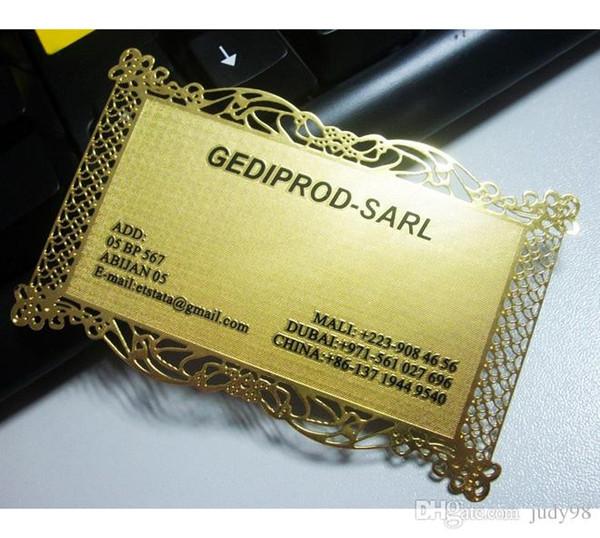 Großhandel 0 3 Mm Dicke Geprägte Gold Metall Messing Visitenkarten Messing Metall Visitenkarten Für Hochzeiten Von Judy98 110 56 Auf De Dhgate Com