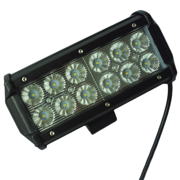 7Inch 36W for Cree LED Work Light Bar for Indicators Motorcycle Driving Offroad Boat Car Tractor Truck 4x4 SUV ATV Flood