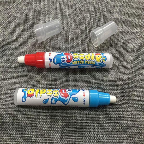 Aqua Doodle Aquadoodle Sihirli Çizim Kalem Su Çizim Kalem Değiştirme Mat 2 Renk Kırmızı ve Mavi Ücretsiz Kargo