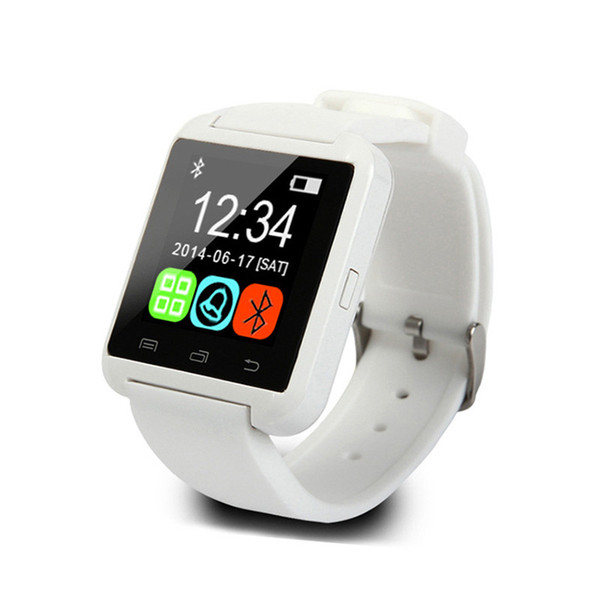 top popular WYJ HOT sell U8 Smart Watch Bluetooth Wrist Watches Altimeter Smartwatch for Android and for iOS phones Smartphones 2021