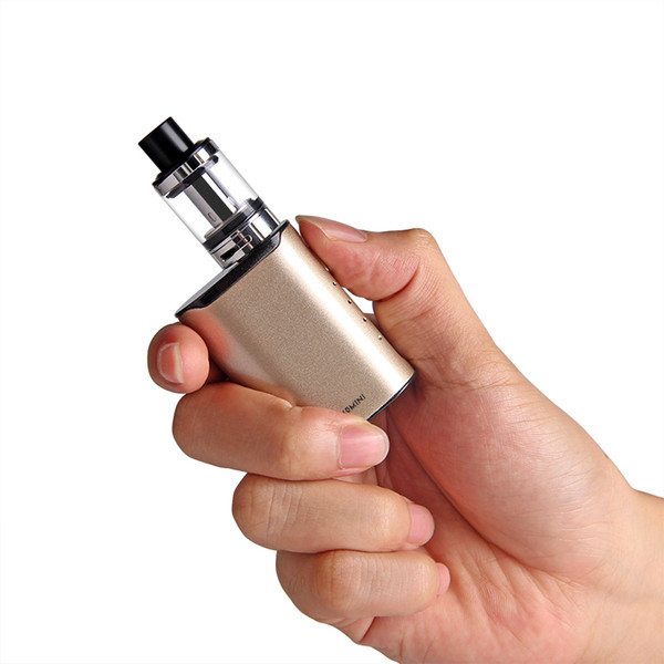 Original ECT C40 mini 40W e cigarette Starter Kits Box Mod 2.0ml Top Refilling Built-in 1800mah electronic cigarette vape pen kit