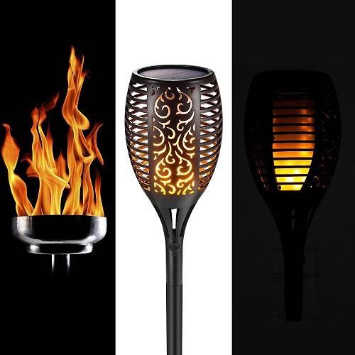 Tiki Éclairage Flamme Lumière Lampes Solaire Étanche Paysage Torche 96 Acheter De Extérieure Scintillement Jardin Lampe Danse Led Torches zMqSVpUG