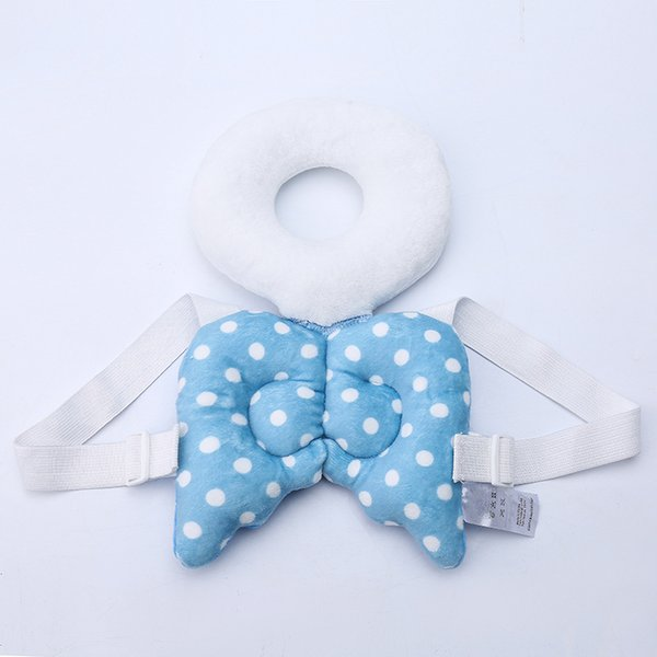 top popular Baby Head Protection Pillow Child Protective Pad Cute Angel Wings Baby Walker Anti Fall Head Hurt Protector Backpack Pad Pillow 2021