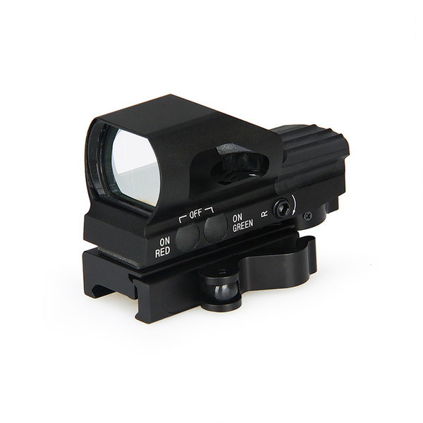 PPT New Arrival 4 Reticle Red Dot Scope Reticle Style Red /Green Dot for Hunting Free Shipping CL2-0093
