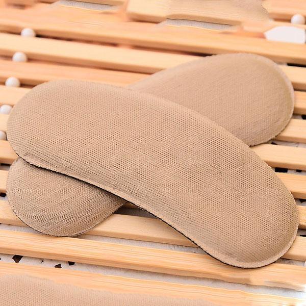 1Pair Strong Sticky Fabric Shoe Heel Inserts Protector Pads Cushion Pad Grips Footcare Sale Shipping