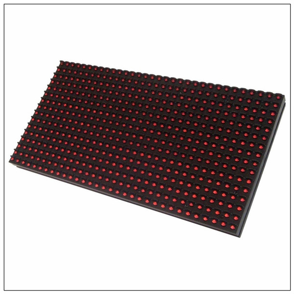 HERO 2017 Energy saving red color HD LED video display screen p10 led module red outdoor