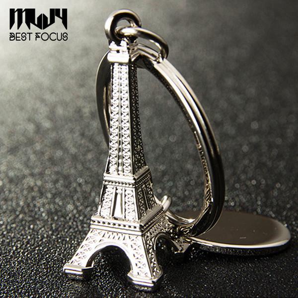 Novità Torre Eiffel portachiavi per auto chiavi souvenir Parigi Tour Eiffel portachiavi portachiavi in lega portachiavi decorazione portachiavi 9 stili