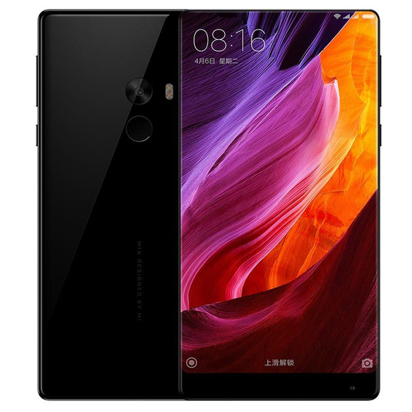 Original xiaomi mi mix pro 4g lte telefone celular snapdragon 821 4 gb de memória 128 gb rom edgeless display full cerâmicas corpo 6.4