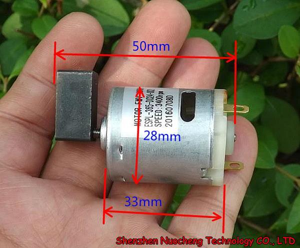 best selling Brand new 365 vibrating motor 24V 3400RPM message motor 28*33mm carbon brush motor ~