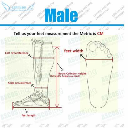 남성 맞춤형 크기
