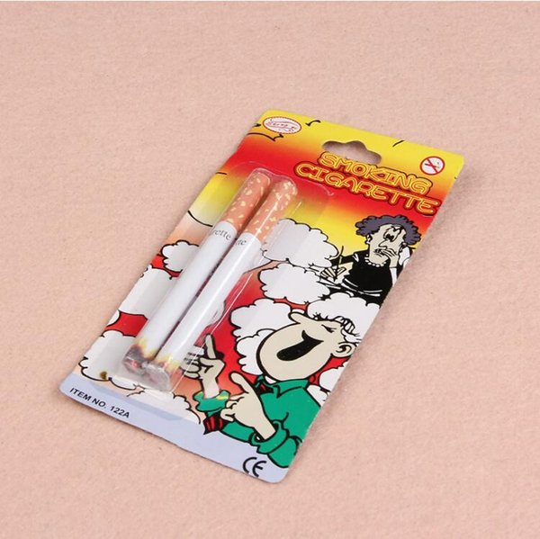 2017 New peculiar simulation toys Tricky toys whole product gifts funny two cigarettes loaded cigarettes small toy wholesale