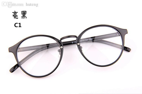 2017 most popular eyeglasses menwomen round frame eyewear fashion eye glasses high quality have lens myopia - Most Popular Eyeglass Frames