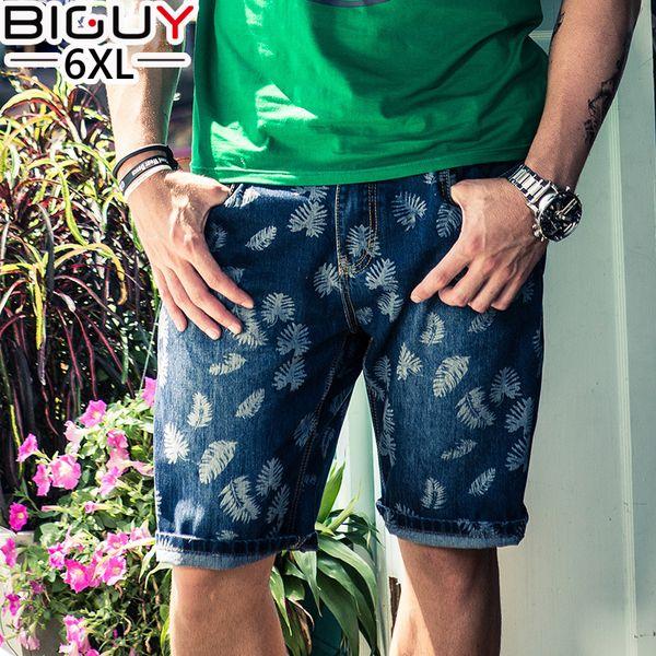 2020 Wholesale Casual Print Men'S Denim Shorts