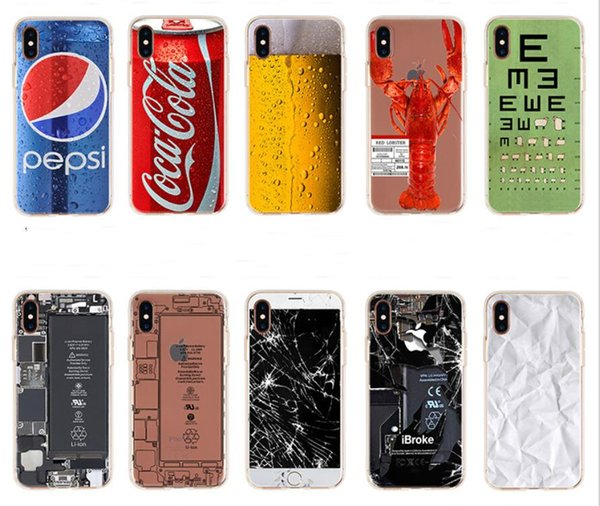 for apple iphone x iphone8 iphone 7 7 plus 6s se tpu creative camouflage cell phone cases