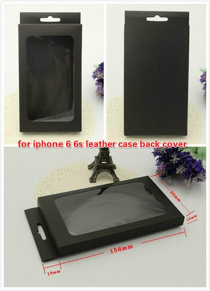 Cell Phone Case Blank Retail Package Paper Packaging Box For iPhone 5S 6S Galaxy S4 S5 S6 Note 2 Case with Plastic Tray