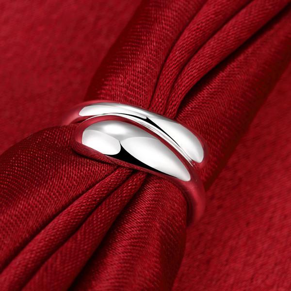 Ouvrez l'anneau redimensionnable Sterling-Silver-Jewelry Bague Bague Bouteilles d'eau Forme Bijoux de haute qualité Mode Classique Bijoux Prix usine