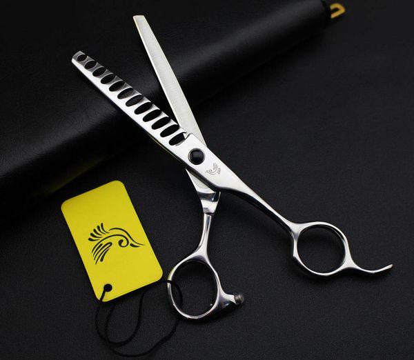 Japan 6 Inch Hot Hairdressing Scissors Professional Hair Thinning Scissors Barber Shears Equipment Salon Tools High Quality
