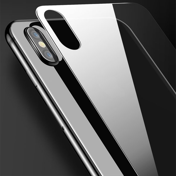 Vetro temperato fronte e retro ultra sottile per iPhone x 7 7 Plus 8 8 Plus
