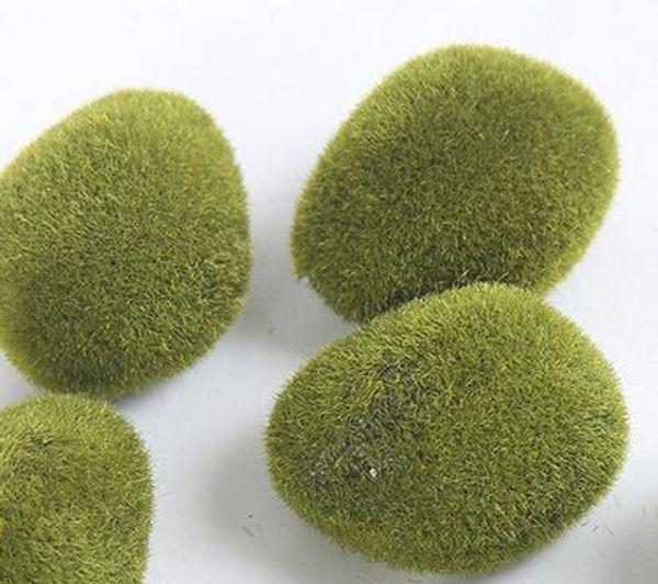 Mini Foam Flocking Stone Craft Home Furnishing Decorate Articles Bonsai Succulent Gnomes Micro Landscape Furnishing Article Hot 0 5lm J R